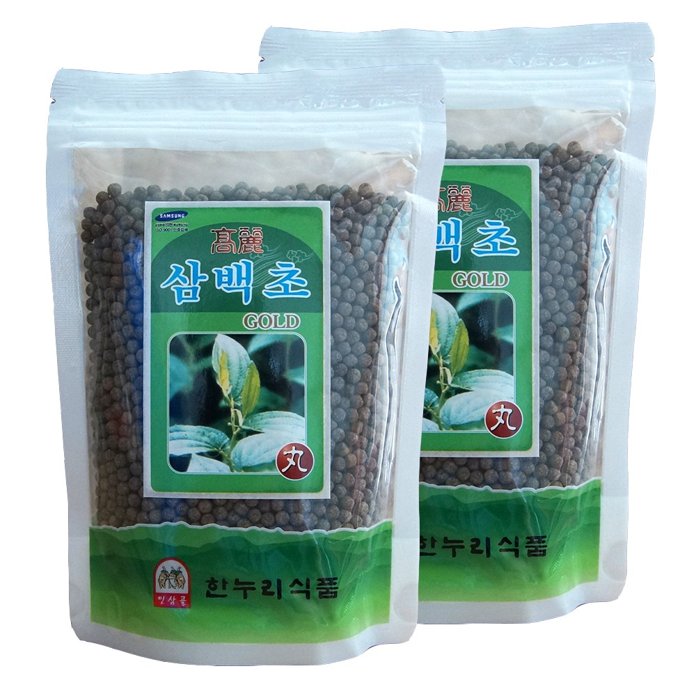 금산한누리식품 삼백초환 600g (300g+300g) (지퍼백), 2개, 300g