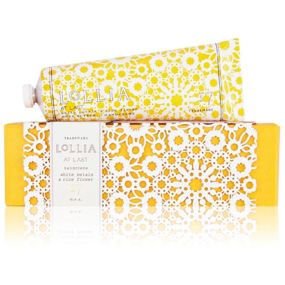 LOLLIA 롤리아 앳 라스트 시어 버터 핸드크림 화이트패탈스 & 라이스 플라워 113 g 1개, 상세페이지참조, 113g