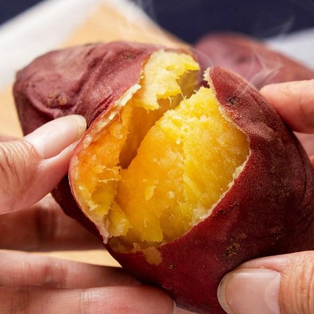 더착한가게 [김의준고구마] 세척 꿀 고구마 5kg 3kg 황금 호박고구마, 1박스, 세척 꿀고구마 1.5kg (한입) 60g 이하