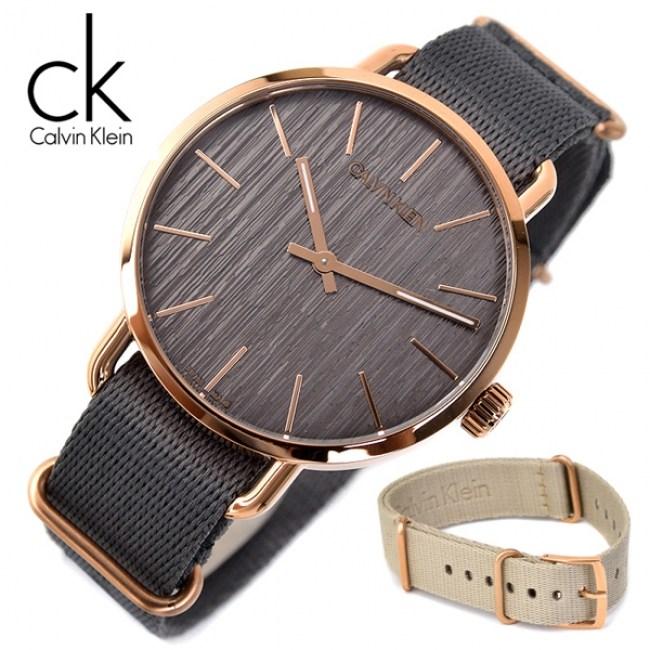 캘빈클라인 K7B216P3 남녀공용 야광인덱스 추가밴드(1종) 명품 시계