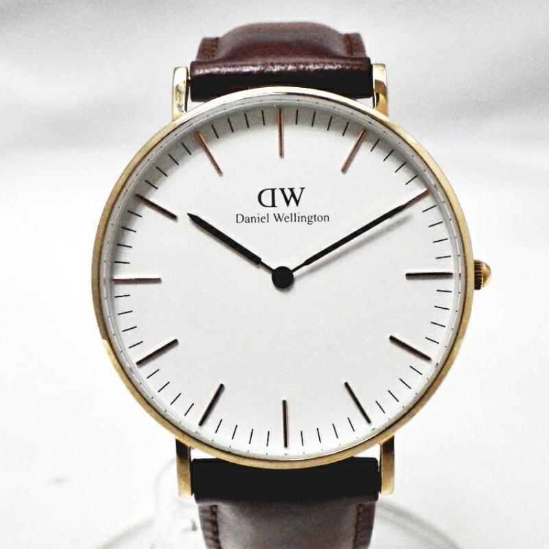 [계단 B]Daniel Wellington다니엘 웰링턴 DW00100035 Classic Classic St Mawes수정 시계 유니섹스 36mm