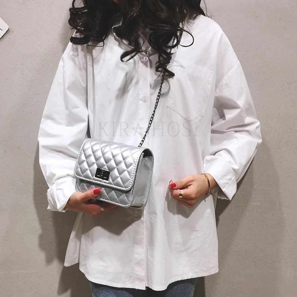 kirahosi 가을 여성 크로스백 체인백 숄더백 캐주얼 패션 핸드백 가방 457 CM8+덧신 증정 AH10vjtn