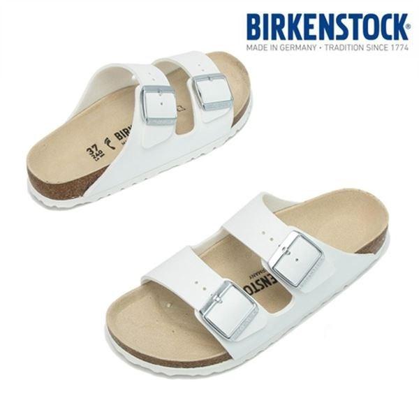 birkenstock 아리조나 화이트 여성 NARROW 51733