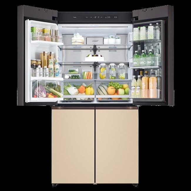 LG전자 M620AAA351 미스트 글라스 오브제컬렉션 빌트인 타입 냉장고 613L 1등급, 미스트 베이지, 미스트 베이지, 미스트 베이지