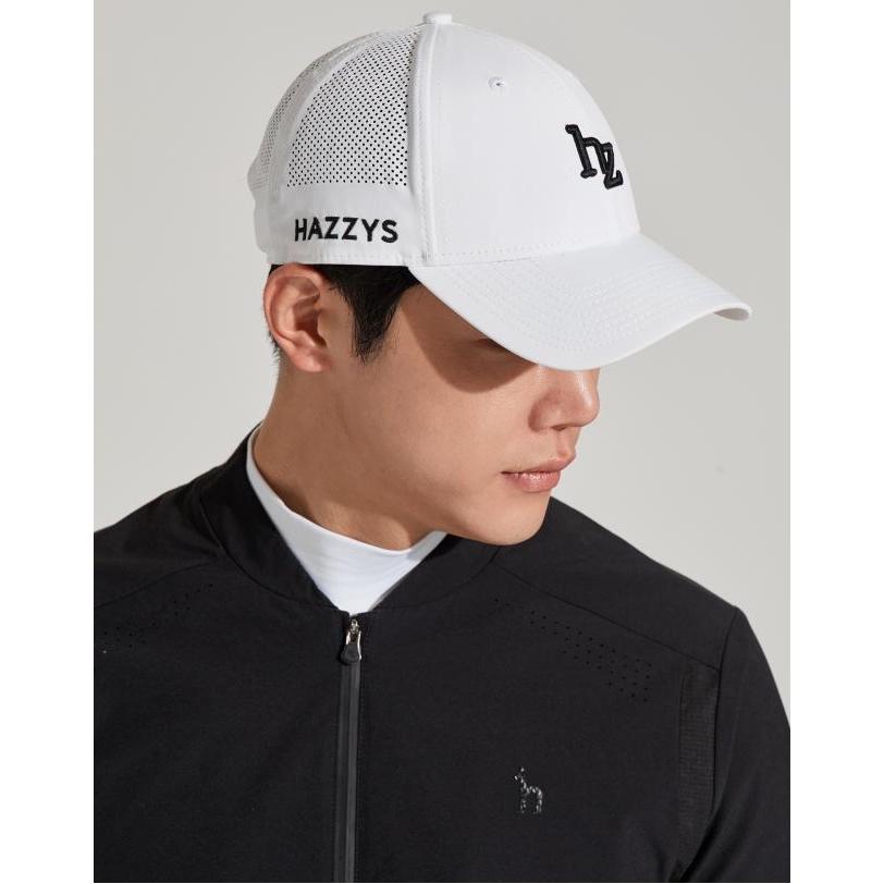 헤지스 골프 남성 20SS [NEWERA-COLLABO]화이트 펀칭배색 캡모자(뉴에라 콜라보) HUHE0E211WT, WHITE