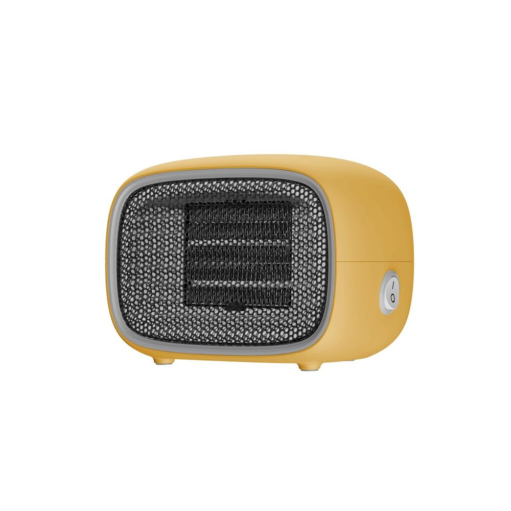 베이스어스 Baseus 탁상용 미니 전기히터 ACNXB-A06, 옐로우