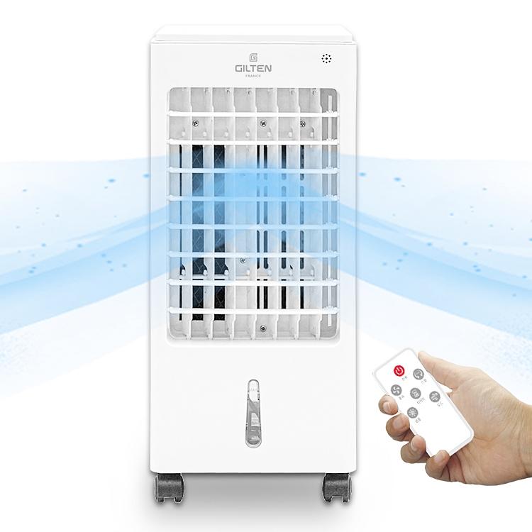 에어쿨러 냉풍기 얼음 날개없는 선풍기 미니 냉방기 이동식 에어컨, 에어쿨러 냉풍기-2071+LCD탁상시계 (POP 5722135099)