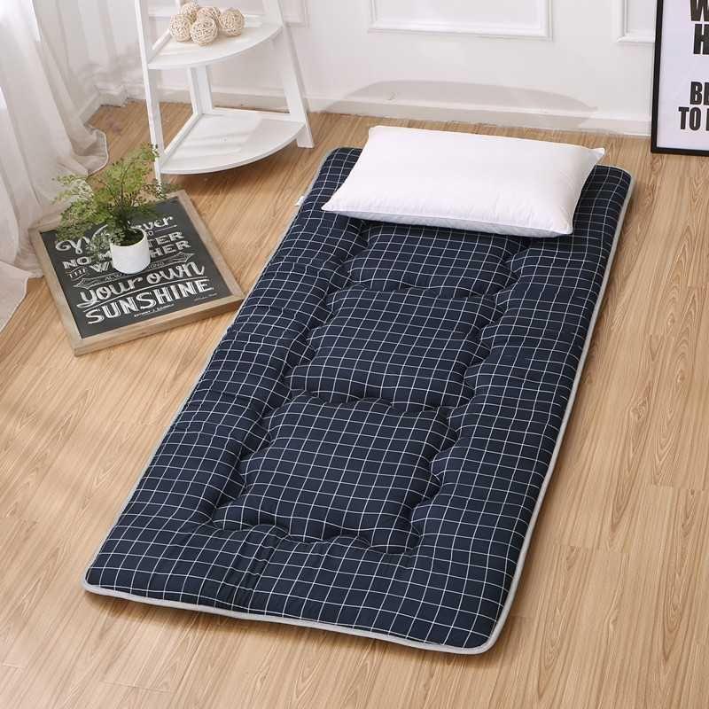침대매트 접이식침대 깔개매트 매트 학생 습기방지 따뜻한온도보존 침실 다다미 편리한침대 사무실 오후휴식매트, C06-120*200cm