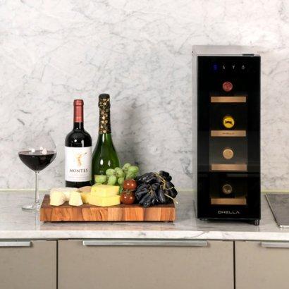 홈 바 모던 디자인 와인 냉장고 앱코 오엘라 셀러 WC01 원목 와인셀러, WC02