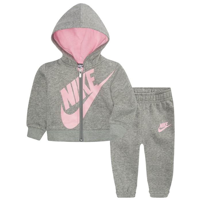 나이키키즈 Nike Fleece Full-Zip Futura Set-Girls-6E409042-p44