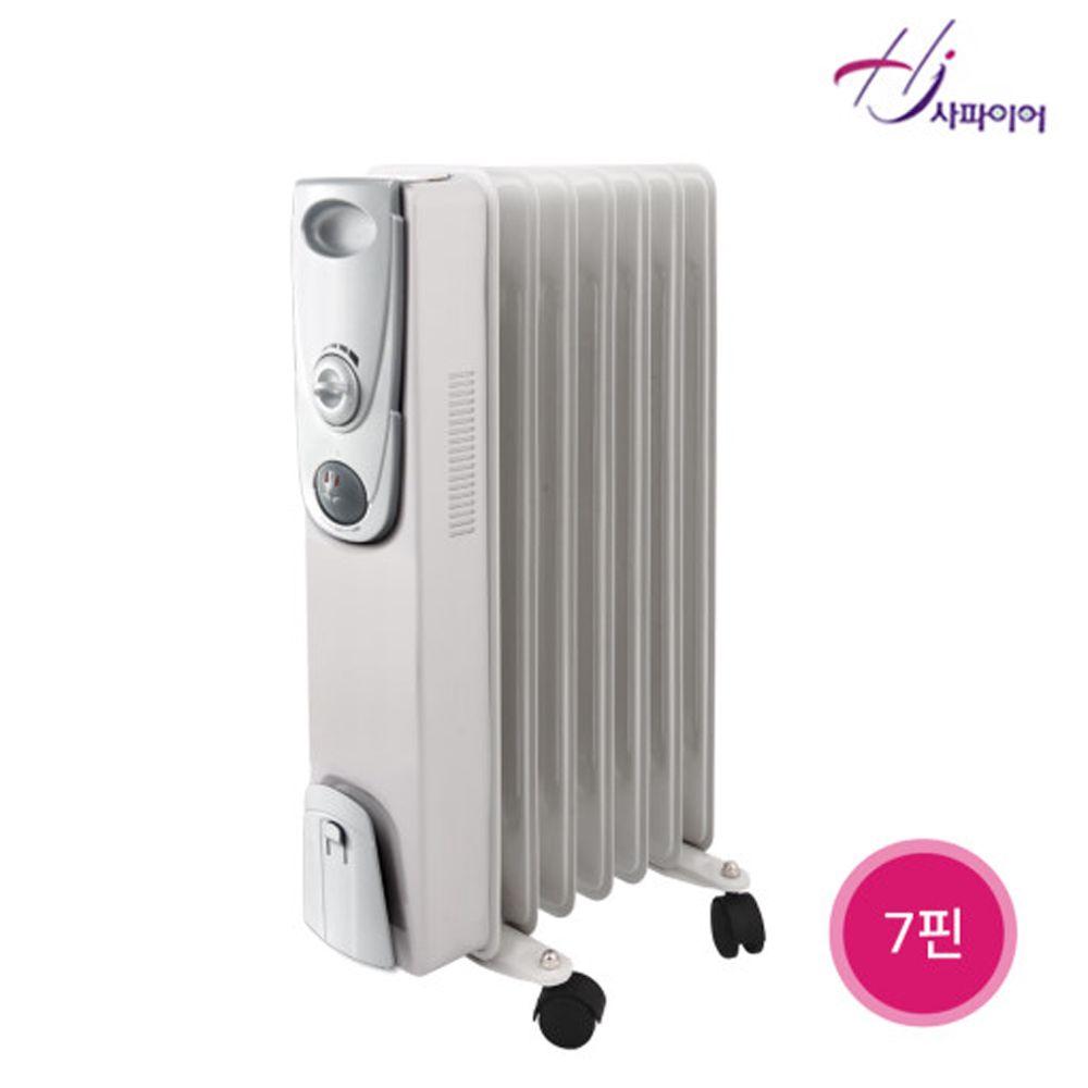 사파이어 욕실동파방지 오일형라디에이터 7핀 SF-007 전기방열기 컨벡터lagom+確幸+ 4ACE67+Ningbo Zannell Electric Industries Co. Ltd., 본상품선택