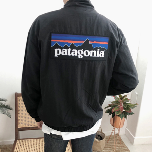 오버핏 Patagonia 하이넥 반집업 아노락점퍼