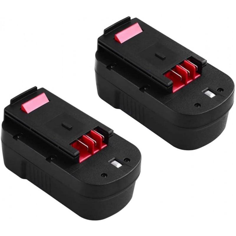 3600mAh HPB18 18Volt 배터리는 검은 색 및 데커 용으로 교체 HPB18-OPE 244760-00 A1718 FSB18 Firestorm 무선 전동 공구 18