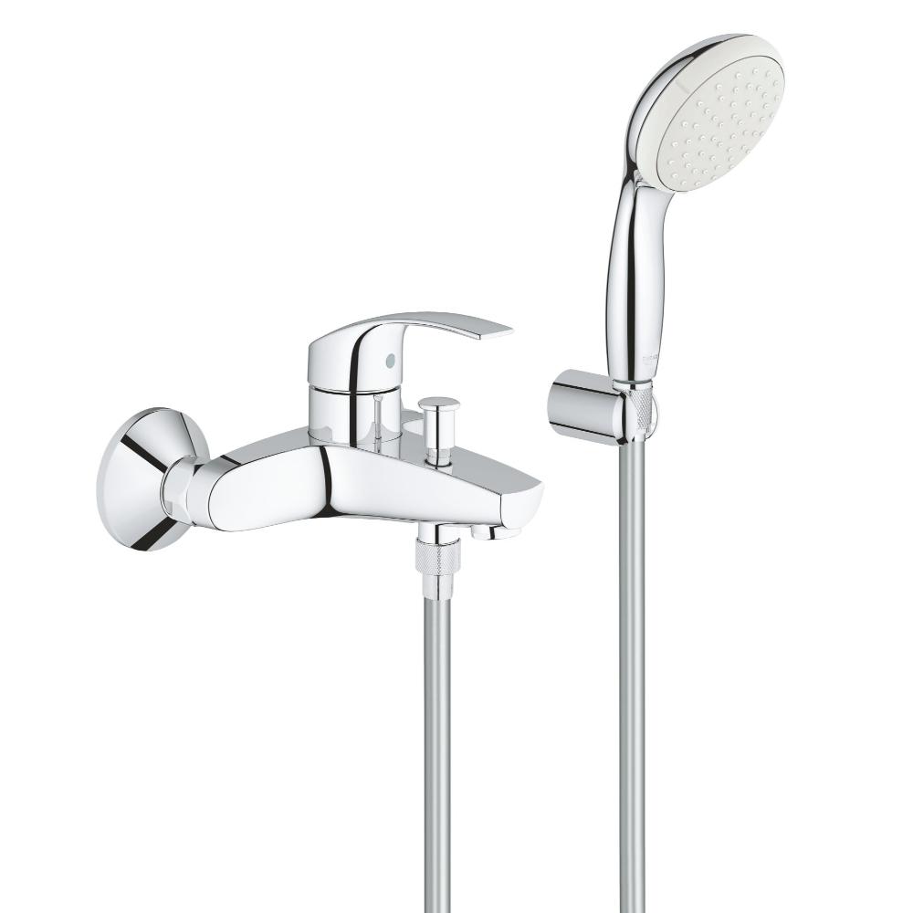 그로헤 유로스마트 욕실 수전 샤워기 세트 독일제, 1개