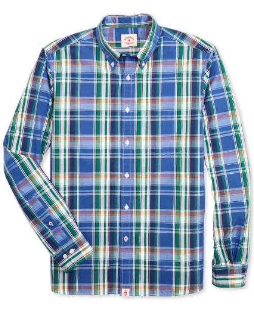 브룩스브라더스 남녀공용 Broadcloth 패턴 코튼 긴팔셔츠 (2컬러)