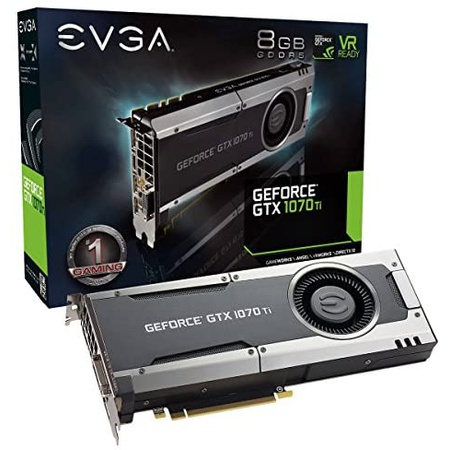 해외550022774 그래픽카드 EVGA GeForce GTX 1070 Ti GAMING 8GB GDDR5 EVGA OCX Scanner OC White LED, 상세 설명 참조0