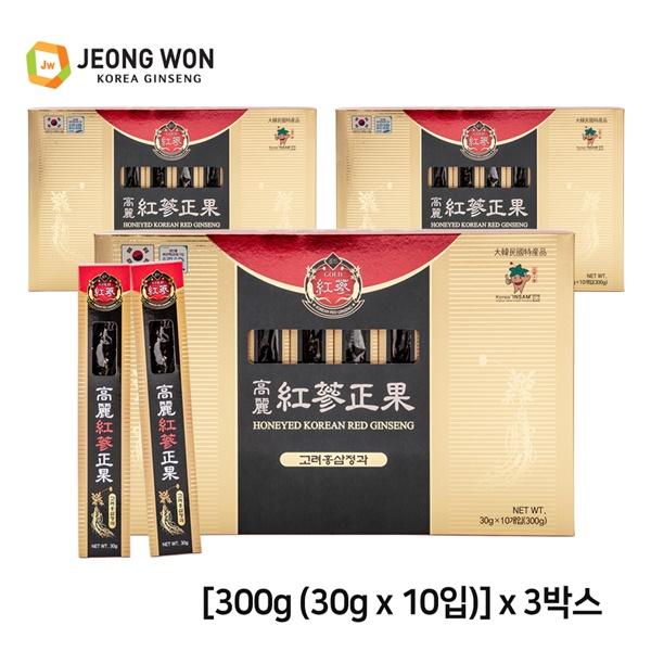 정원고려인삼 고려홍삼정과 300g x 3박스