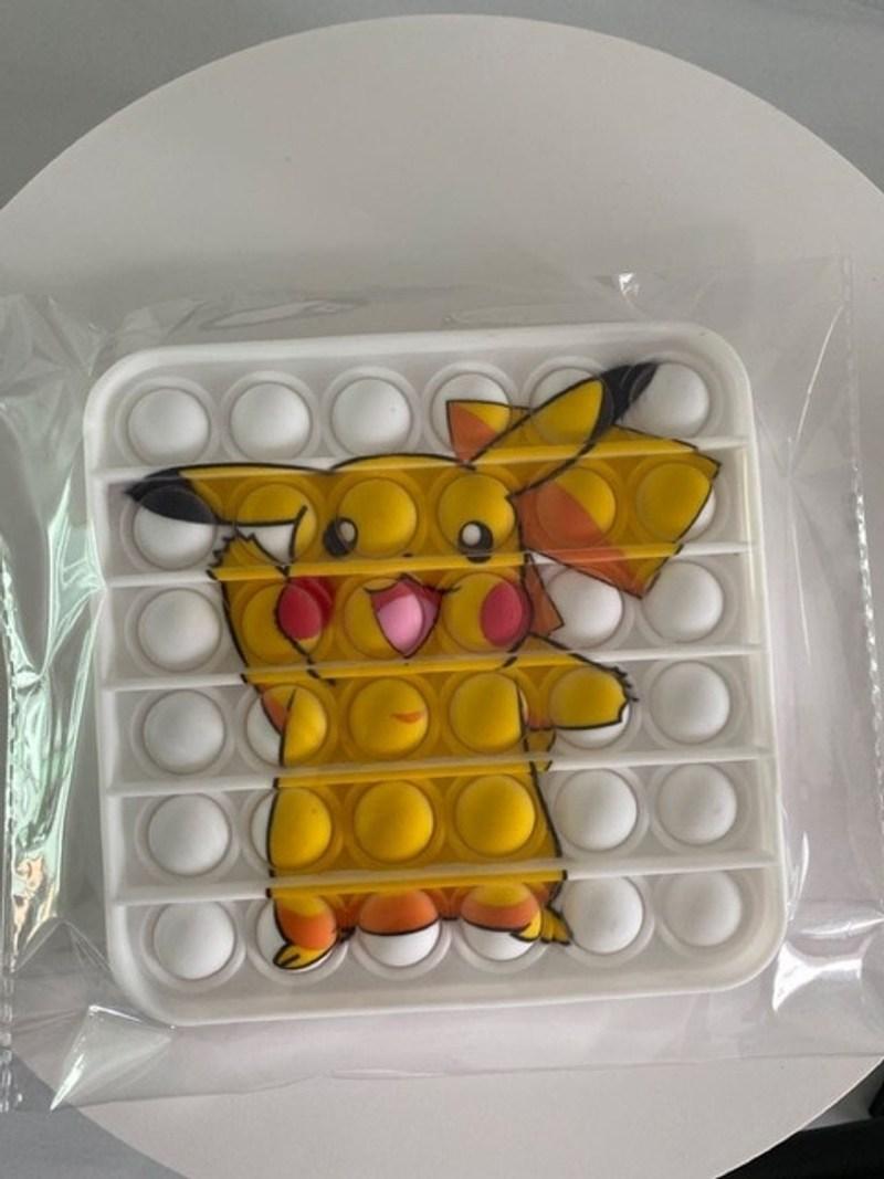 푸시팝 푸쉬팝 팝잇 누르는 장난감 무한 뾱뾱이 꾹꾹이 세트 피젯 스트레스 포켓몬 62, Pk 01