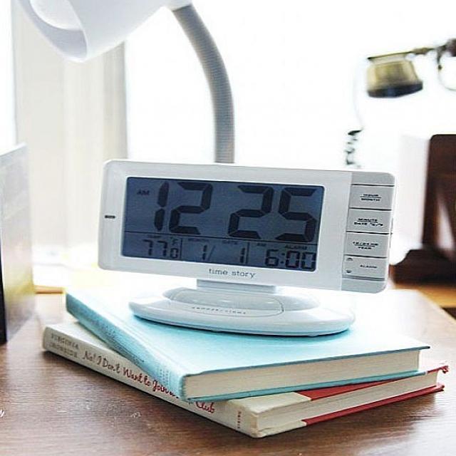 노멜마켓 알람부터 온도 달력까지 빅스퀘어 디지털시계 탁상시계, 해당상품