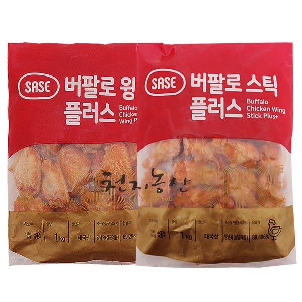 사세 버팔로스틱 1kg+버팔로윙 1kg, 2개, 1kg