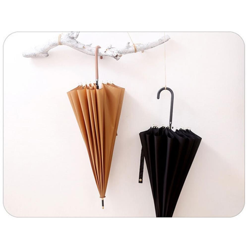 행사사은품 트렁크우산 얇은 손잡이 클래식 여성 장우산 장마철우산 50대우산 여름