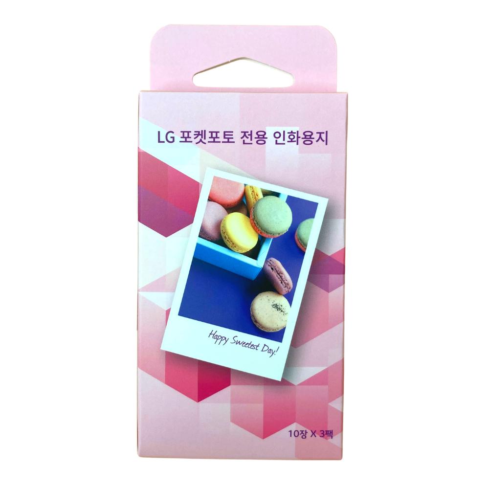 LG 포켓포토 인화지 30매(일반인화지)