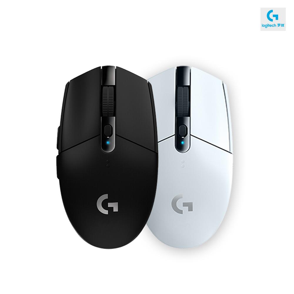 로지텍 G304 LIGHTSPEED 무선 게이밍 마우스, 블랙