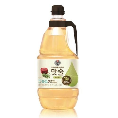 CJ제일제당 백설 로즈마리 맛술, 1.8L, 5개
