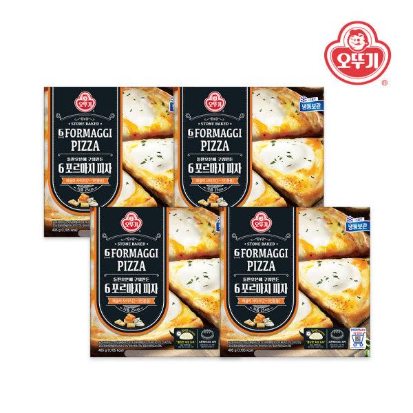 [오뚜기] 냉동 6포르마지 피자 405g x 4개, 상세 설명 참조