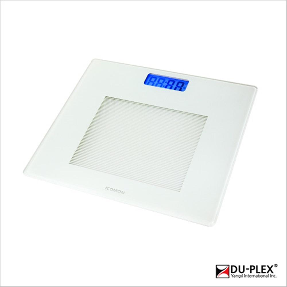 듀플렉스 DP-5501BS 디지털 체중계, 화이트