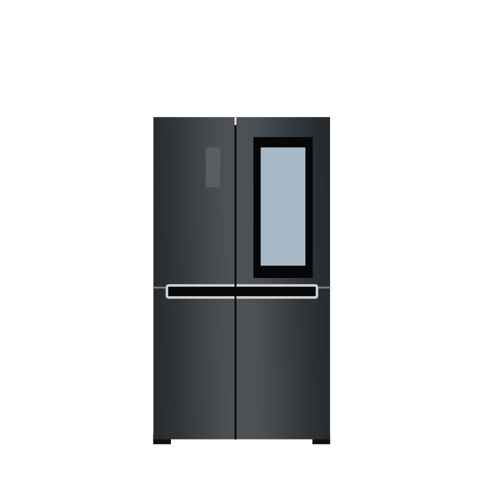 LG전자 S631MC75Q 양문형냉장고