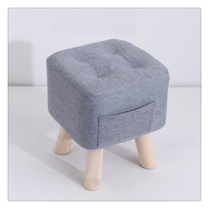 티피 패브릭 의자 가정용 패션 크리에이티브 소파 거실 벤치, B