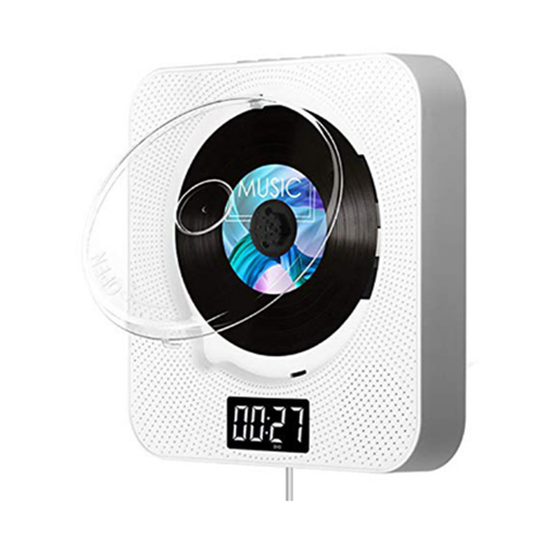 KECAG 벽걸이 CD플레이어 USB 블루투스 FM라디오, 선택(9) 3세대화이트ⓛCDH00539.09