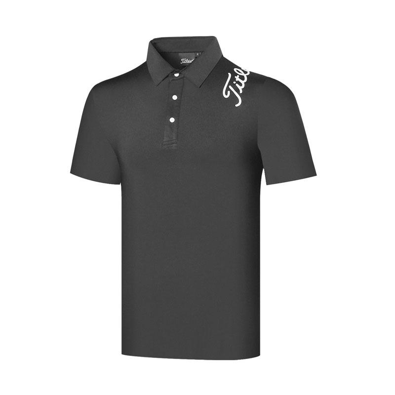 티셔츠50호 패션 골프웨어 남성 상의 반팔 티 봄여름 반팔 스탠딩 셔츠 에어 속건옷ZT2132850