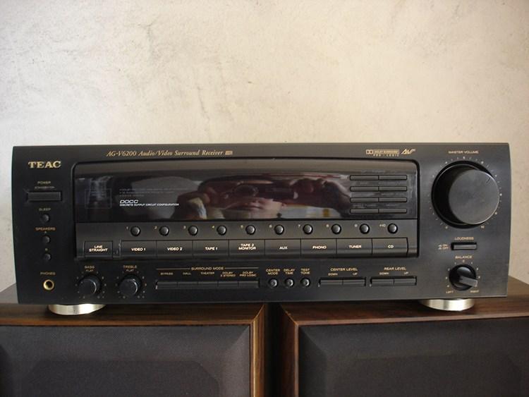 Teac 스피커 AG-V6200 7700 일본 정품 홈시어터 파워앰프 DOLBY 사운드 고출력 앰, 상세내용참조