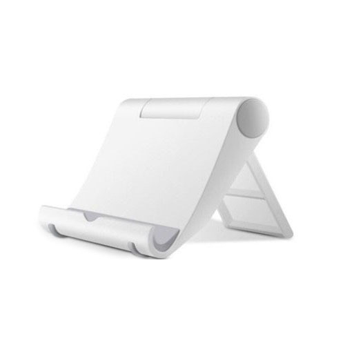 이츠굿텐 가방에 쏙들어가는 휴대용 핸드폰 스마트폰 태블릿PC 거치대, 1개, 화이트(가방에쏙)
