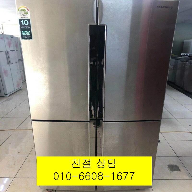 (중고냉장고)삼성 메탈 4도어 양문형냉장고 900L, 중고삼성냉장고