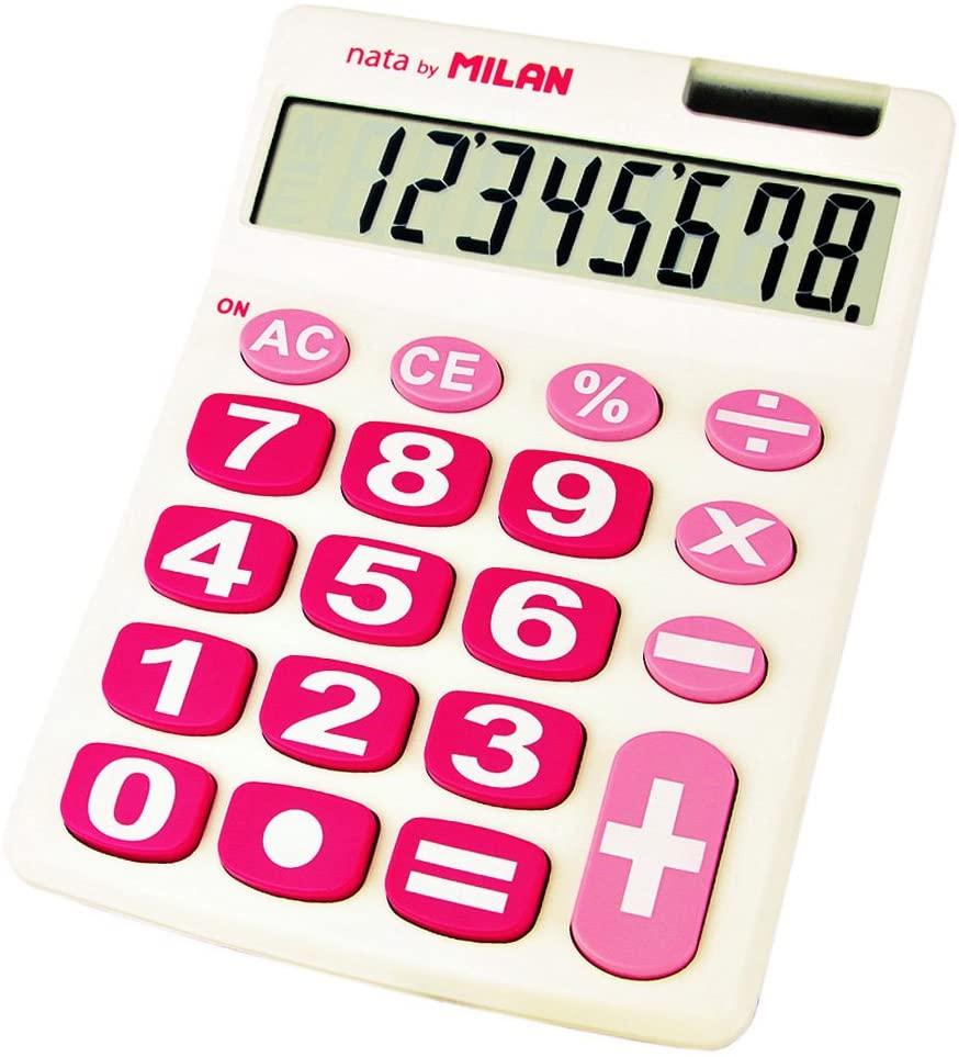 3.예상수령일 2-6일 이내 MILAN 밀란 8 자리 계산기 빅 키 151708WBL 화이트 × 핑크 B003YUHMYK 일본아마, 상세 설명 참조0, 상세 설명 참조0