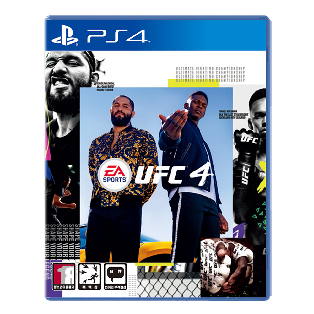 PS4 UFC 4 한글판 UFC4, 단일상품