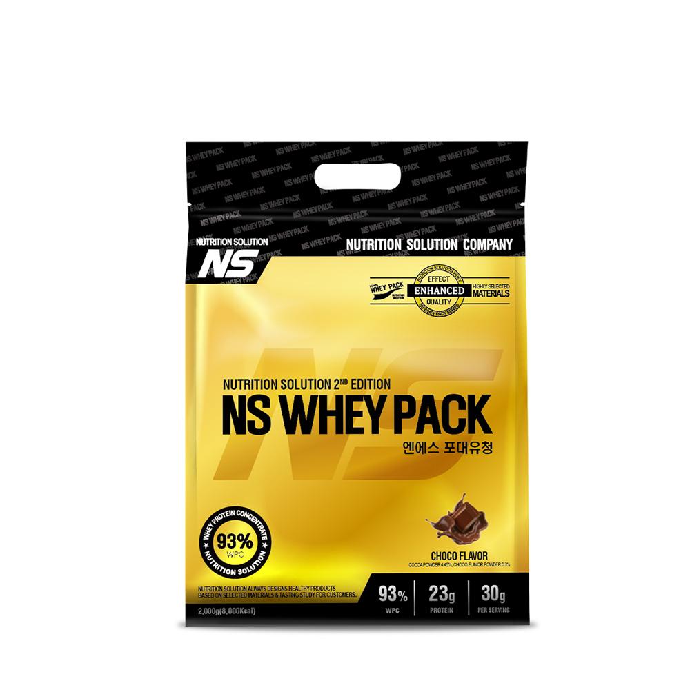 뉴트리션스토어 NS 포대유청 WPC 초코맛 유청단백질가루 단백질쉐이크 프로틴, 1팩, 2kg