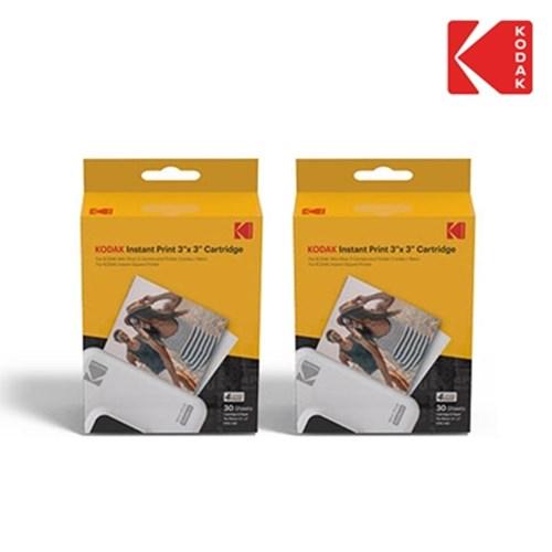 아트박스/코닥 미니샷 3 콤보 레트로 스퀘어 전용 카트리지 60매, (3인치) 미니샷3 전용 카트리지 60매