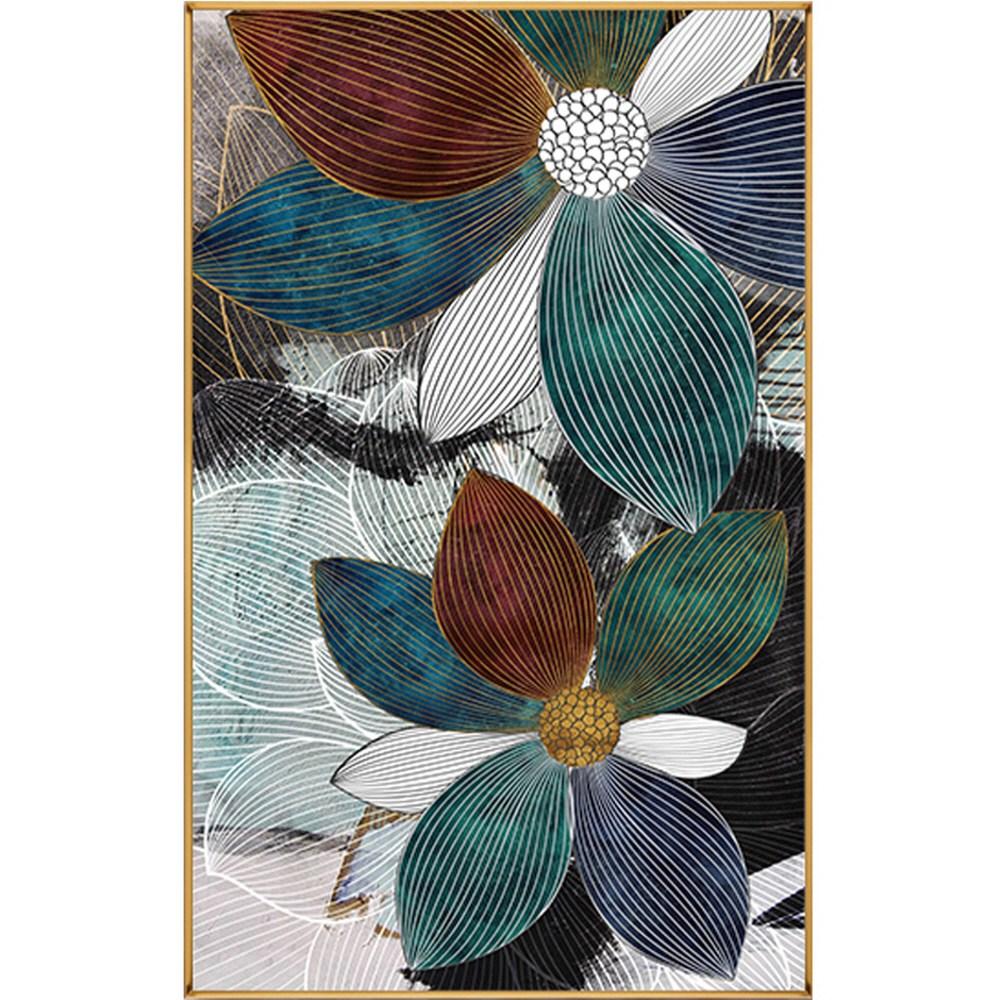 현대 모던 플라워 꽃 보석십자수 집에서 할 수 있는 취미, 60x90