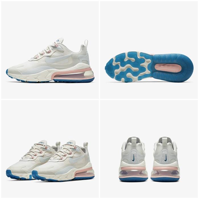 (해외배송) 나이키 100스퀘어 나이키 에어맥스270 리액트 써밋화이트 Womens AT6174-100 Nike Air Max 270 React (American Modern) 100스퀘어