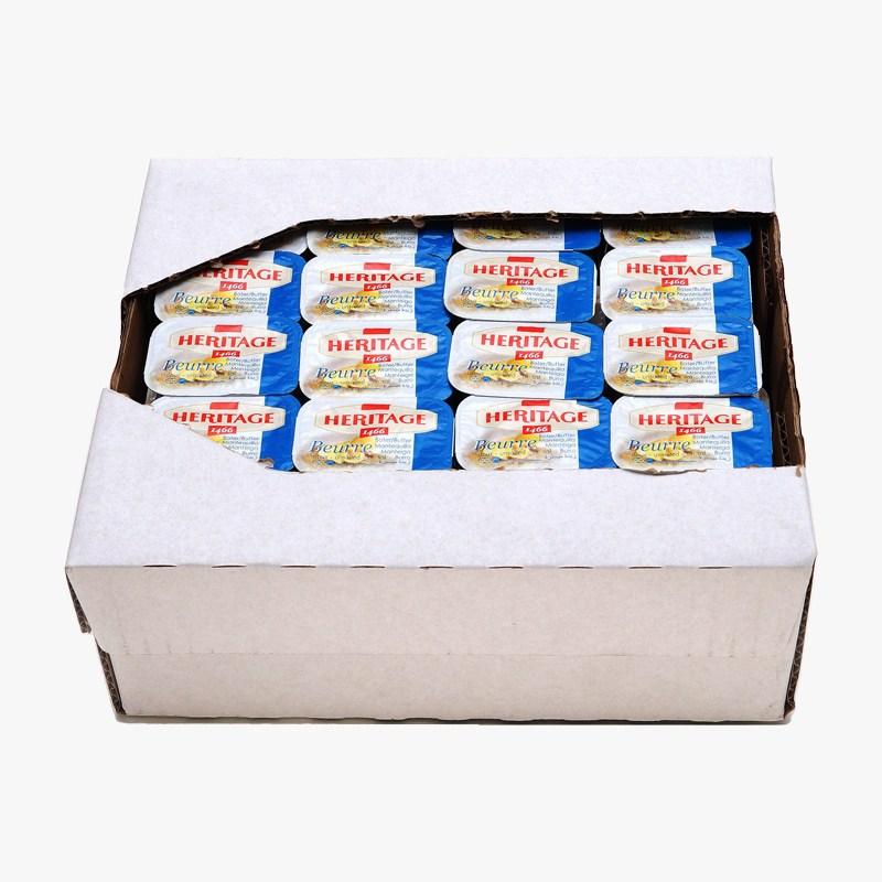 헤리티지 포션 무염버터 1kg(10gX100개), 10g, 100매입