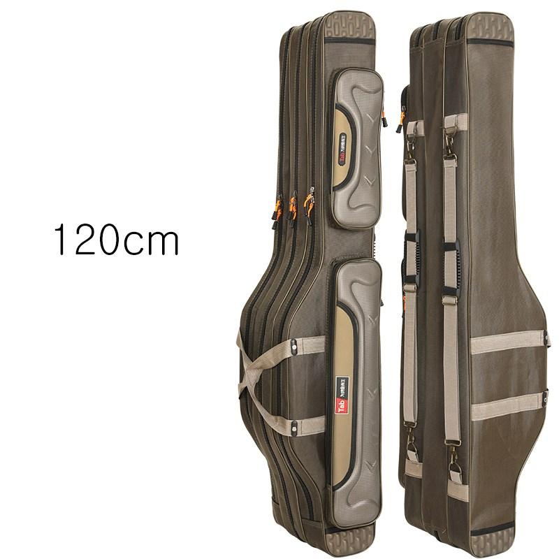 [해외 직송]뉴타임즈2 낚시가방 낚싯대가방 바다낚시 전용 방수 바다낚시가방 XT03 A22, 12 120cm 3층
