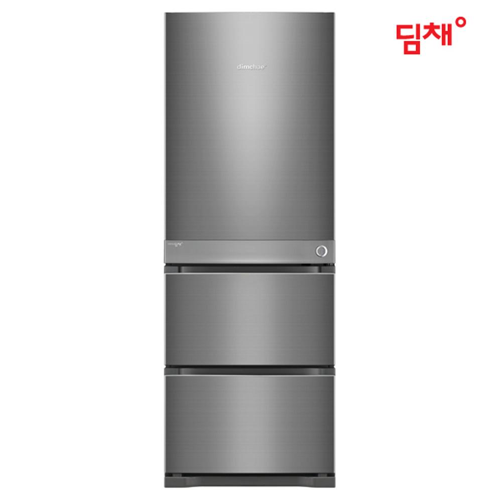 [딤채] 스탠드형 김치냉장고 3도어 418L 오브 딥실버 WDT42ERMBD (전국무료배송/설치비포함)