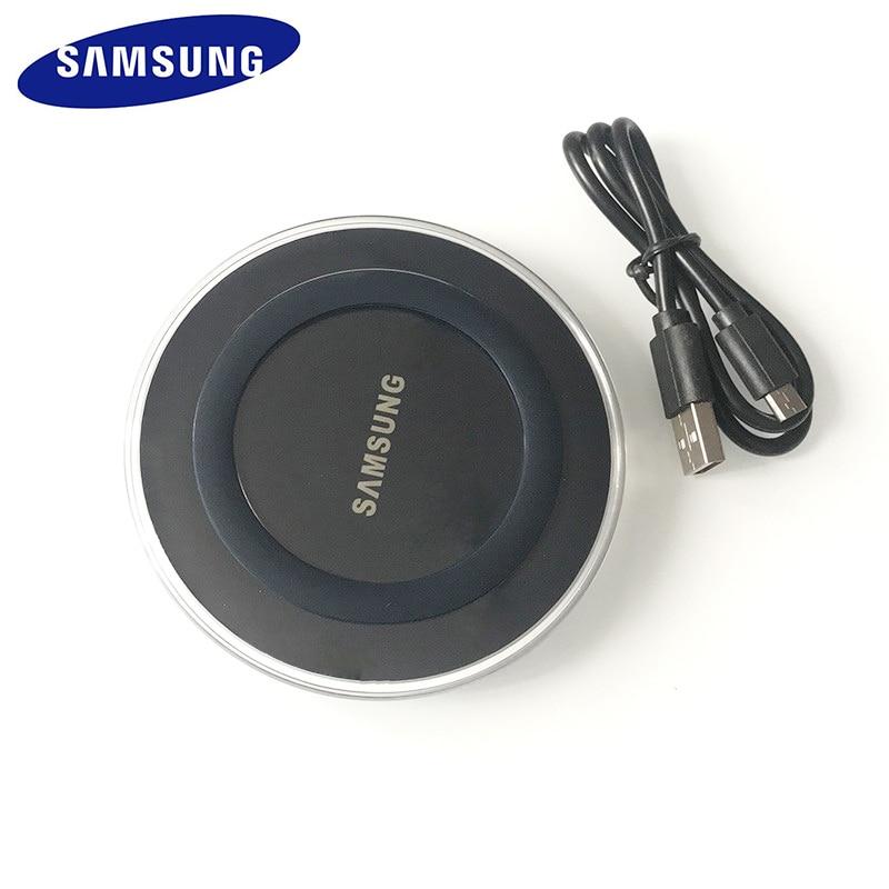 삼성 무선 충전기 QI 충전 패드 갤럭시 S7 S6 가장자리 S8 S9 S10 플러스 참고 4 5 8 XS XR MI 9, Black (POP 5707560701)