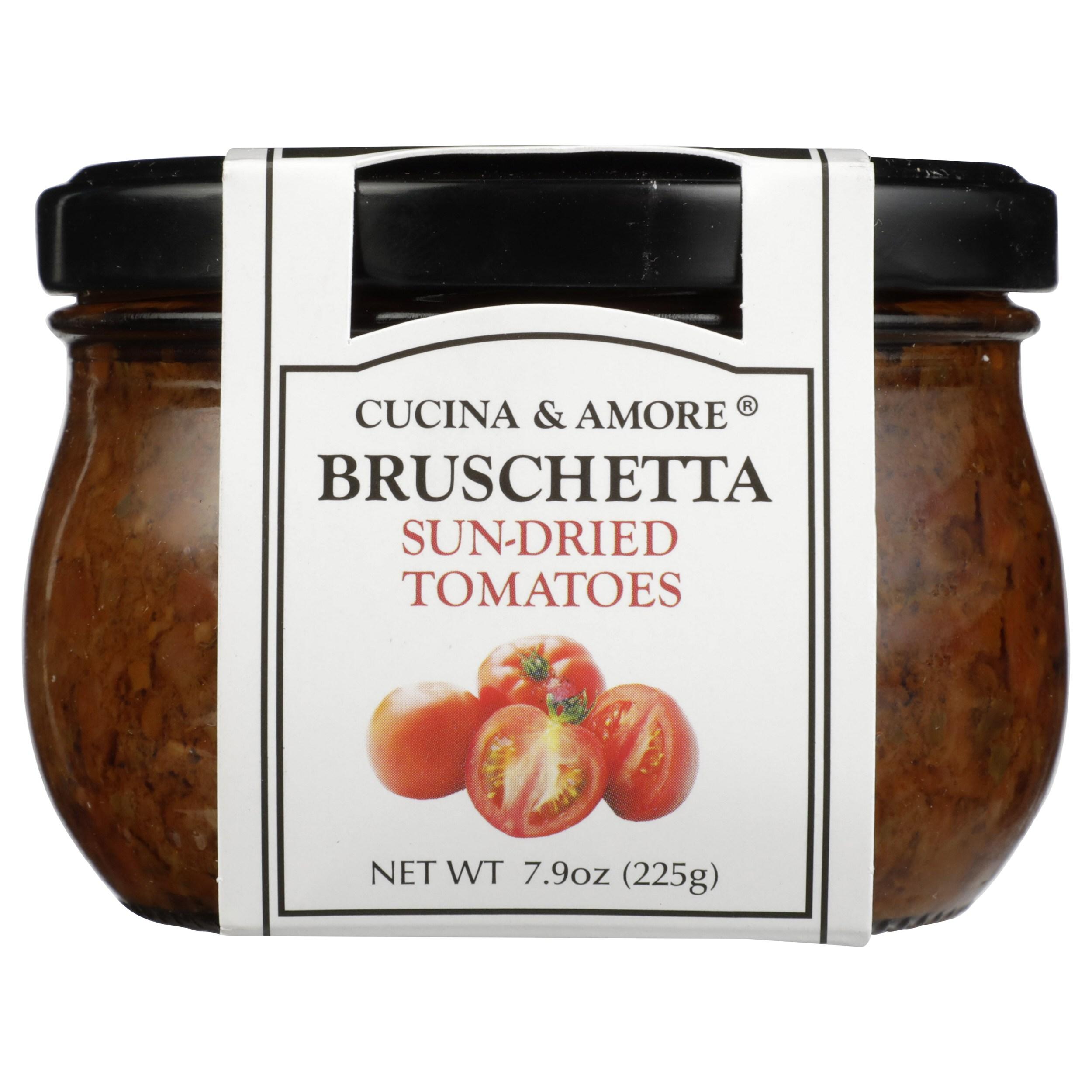 쿠치나앤아모레 브루스케타 선-드라이드 토마토 소스, 225g, 1개