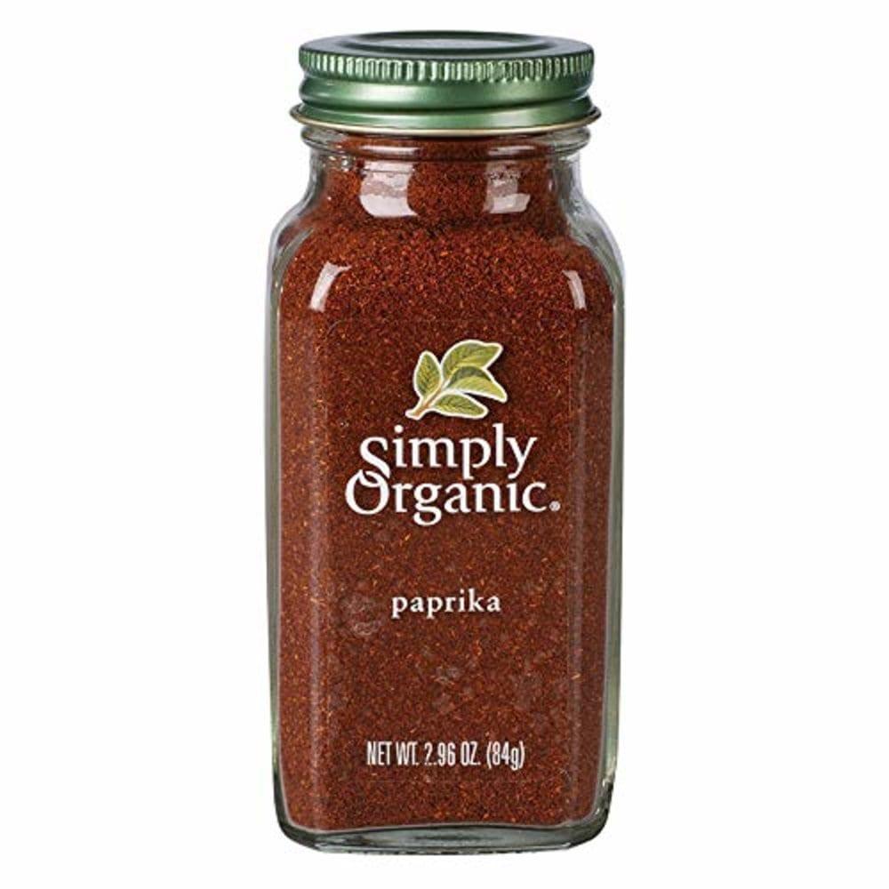 Simply Organic 심플리오가닉 유기농 파프리카 가루 Ground Paprika 84g, 1팩