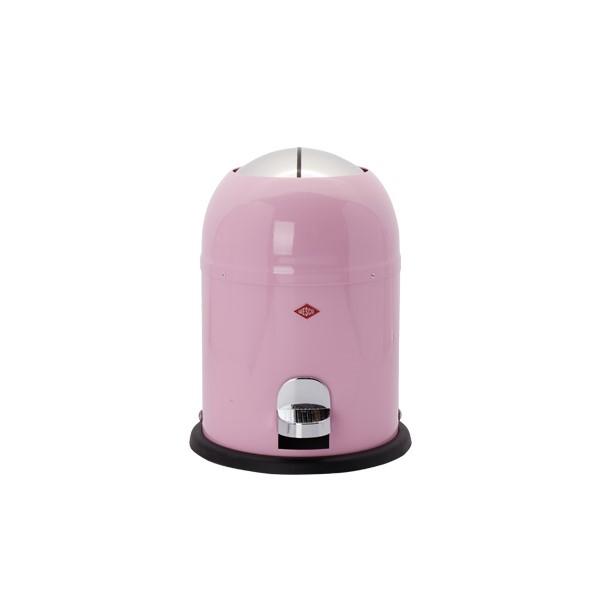 웨스코 싱글마스터 휴지통 9L (아몬드), 핑크, 1개